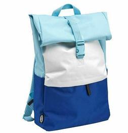 IKEA Backpack Book Bag Zip Laptop Pocket 5 Gal Blue All Occa