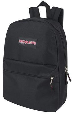 """17"""" Backpack Bookbag School Bag Travel Shoulder Satchel Ruck"""