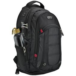 "caseen 15.6"" Laptop Backpack Lock Shoulder Hiking Business T"