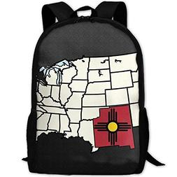 Backpack Obvious New Mexico In Map Mens Laptop Backpacks Sho