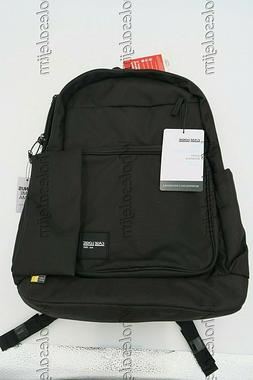 """Case Logic Backpack + Pencil Case with 15.6"""" Padded Laptop P"""
