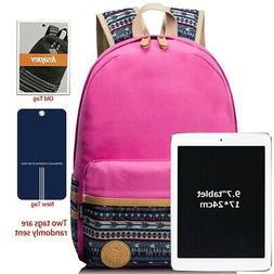 ) - Leaper Casual Lightweight Canvas Laptop Bag/Shoulder