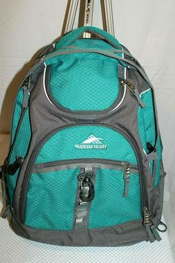 HIGH SIERRA Backpack Suspension Strap Tech Spot Laptop NEW W