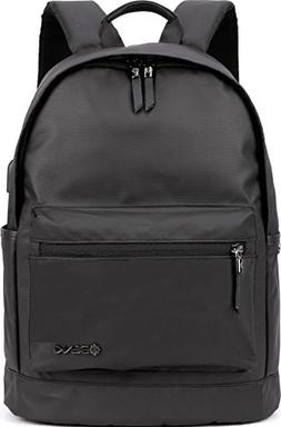 """Backpack w/USB Charging Port Fits UNDER 15"""" Laptop & Noteboo"""