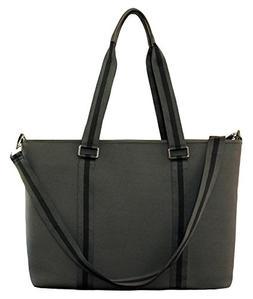 BfB Neoprene Laptop Bag for Women – No More Boring Briefca