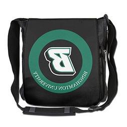BakeOnion Binghamton University Messenger Bag Traveling Brie