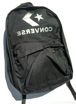 Converse Black Backpack Laptop Sleeve Tablet Holder School B