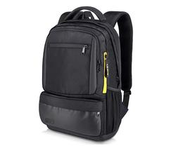 Black Backpack with 15.6 Inch Laptop and Small Tablet Compar