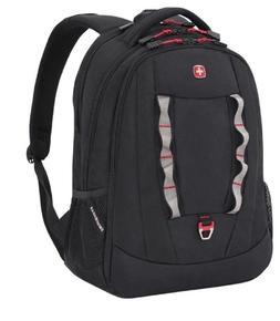 "SwissGear Black Cod Birs 15"" Laptop Travel School Work Backp"