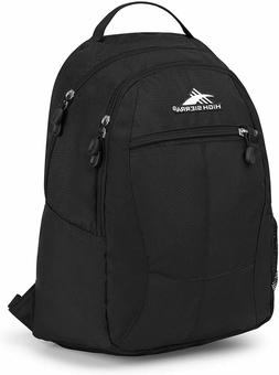 HIGH SIERRA Black Curve Travel Laptop Bag Backpack NEW