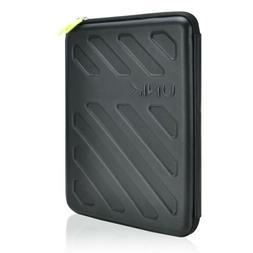 UNIK CASE-Black Gauntlet EVA Hard Shell Zipper Sleeve Bag fo