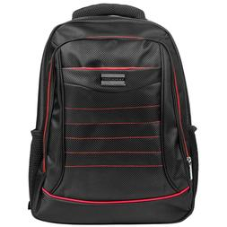 """Black/Red VanGoddy Laptop Backpack Case Bag for 15""""-15.6"""" HP"""