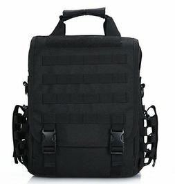 Black Tactical 14 Laptop Computer Carrying Case Backpack Sho