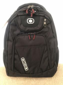 black tribune laptop backpack nwt free shipping