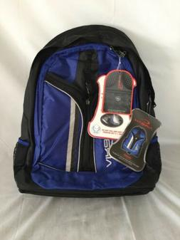 Airbac Blue Ring 'Half The Weight' Backpack NWT Great Book B