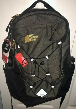The North Face Borealis Backpack Gray/24k Gold Laptop Tablet