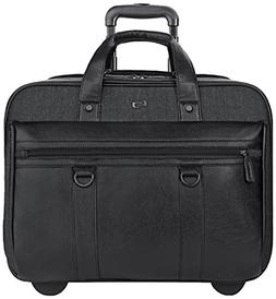 """SOLO Bradford Collection 17.3"""" Rolling Laptop Briefcase EXE9"""