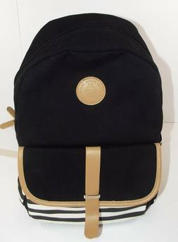 Leaper Brand * Backpack * Thick Canvas * Laptop Pack * Black