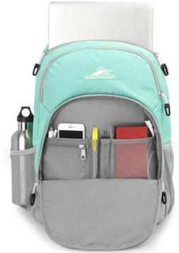 High Sierra Brees Laptop Backpack, Turquoise and Gray