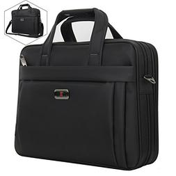 Briefcase Bag, 15.6 inch Laptop Bag, Stylish Nylon Multi-Fun
