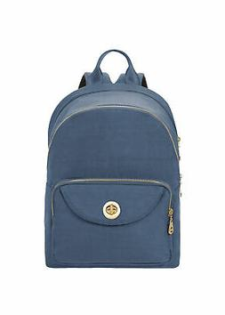 Baggallini Brussels Laptop Backpack, Slate Blue