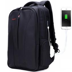 Business Slim Laptop Backpack for Women & Men, Anti Theft Tr