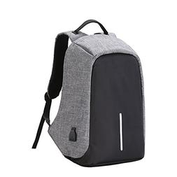 Business Laptop Backpack with USB Charging Port Water Resist