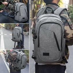 Business Laptop Backpack, Travel Bag with Headphone Port and