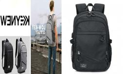 KEYNEW Business Laptop Backpack with USB Charging Port for M