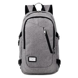 Business Laptop Backpack with USB Charging Port Unisex Leisu