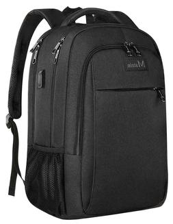 Business Travel Backpack Matein Laptop Backpack with USB Cha
