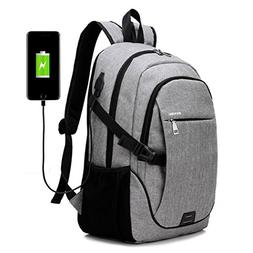 Lupan Business Water Resistant Laptop Notebook Backpack with