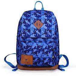 Camel Teen Backpack Camouflage Kids School Bookbag for Kids|