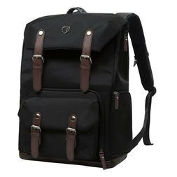"""BAGSMART Camera Backpack for DSLR Cameras & 15"""" Laptop w/ Tr"""