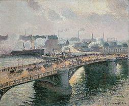 Camille Jacob Pissarro  Hand-Painted Art Reproduction with O