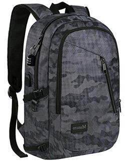 Camo Backpack, Camouflage Travel Laptop Backpack for Travel
