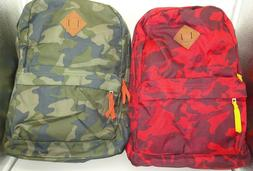 "Aeropostale Camouflage 16"" Backpack Laptop Sleeve Book Trave"