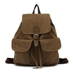 KAUKKO Canvas Backpack Rucksack Outfitter Bag 32x18x39cm  -