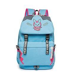 Unisex Adults Canvas Backpack School Bag