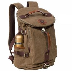 KAUKKO Canvas backpack Sports Shoulder Messenger Bag  Tote S