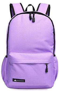 Lightweight Canvas Backpack School Bookbag For Student Rucks