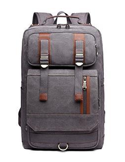 Canvas College Backpack BEFAiR Vintage Weekender Backpack Sc