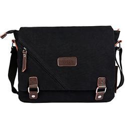 ibagbar Canvas Messenger Bag Shoulder Bag Laptop Bag Compute