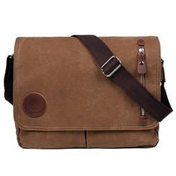 3531a11790 LOSMILE Canvas Messenger Bag Shoulder Bag Vintage Crossbody