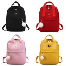 Women Backpacks School Students Bookbag Travel Causal Canvas