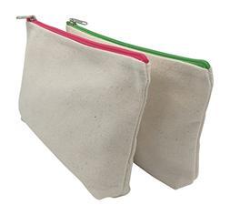 ChimmyChucks Canvas Zipper Bags