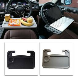 Car Steering Wheel Mount Laptop Tray Table Desk Eating Food