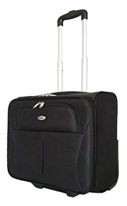 CarryOn Laptop Computer Bag Rolling Travel 2Wheel Overnight