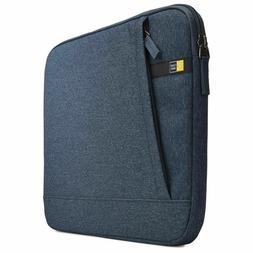 "Case Logic Wuxs115blu Huxton 15.6"" Laptop Sleeve Blue"
