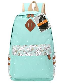 Leaper Casual Style Canvas Laptop Backpack/ School Bag/ Trav